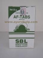 SBL Homeopathy, AF-TABS Tablets, 25 gm, Anti-flu