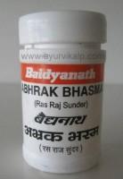 ABHRAK Bhasma (Ras Raj Sundar) Baidyanath, 10 g