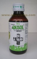 Ajanta ADUSOL WITH TULSI SYRUP, 100ml, For  Chest Congestion, Sore Throat