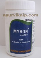 Alarsin MYRON Tablets, 100 Tablets, for Leucorrhoea