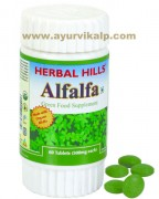 Herbal Hills, Alfalfa Tablets, Cholesterol
