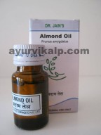 Dr. Jain's ALMOND Oil, 10ml, Protects and Nourishes skin