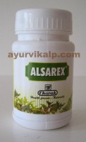 Charak ALSAREX, 40 Tablets, for Gastric, Duodenal Ulcers