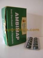Maharishi Ayurveda AMBIMAP, 100 Tablets, for Parasitic Intestinal Disease.