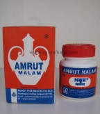 Amrut Pharmaceuticals, AMRUT MALAM, 25 g, Useful For Cracks On Heals, Foot, Toes