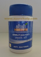 Sri Sri Ayurveda, AMRUTADI VATI, 60 Tablets, Anti Bacterial
