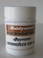 ANANDBHAIRAW Ras(Kas) (Ras Raj Sunder) Baidyanath, 80 Tablets