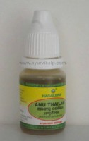 ANU THAILAM Nagarjuna, 10ml, For Sinus congestion
