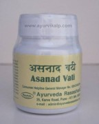 ASANAD Vati, Ayurveda Rasashala, 60 Tablets, It Controls Sugar For Diabetic Patients