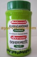 Baidyanath ASHWAGANDHADI Churna, 100gm, for Vitality & Stamina