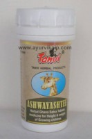 ASHWAYASHTEE Tanvi Herbal, 30 Ghana Satva Tablets, For Height & Weight Of Growing Children