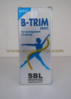 SBL Homeopathy, B-TRIM Drops, 30 ml, Management of obesity