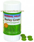 Herbal hills, barley grass, tablet, green food supplement,