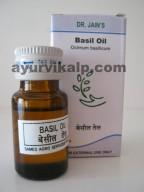 Dr. Jain's BASIL Oil, 10ml, Digestive, Antiseptic, Restorative