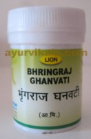Lion BHRINGRAJ Ghanvati Tablets Prevents Hair Fall