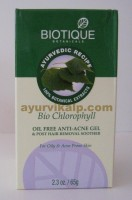 Biotique CHLOROPHYLL Oil Free Anti Acne Gel 65g (2.3oz)
