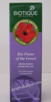 Biotique FLAME OF THE FOREST Fresh Shine Expertise Hair Oil 120ml (4.2 fl.oz)