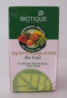 Biotique FRUIT Flawless Whitening Face Pack 85g (2.4oz)