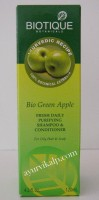 Biotique GREEN APPLE Fresh Daily Purifying Shampoo & Conditioner 120ml (4.2 fl.oz)