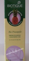 Biotique PINEAPPLE Fresh Foaming Cleansing Gel 120ml (4.2 fl.oz)