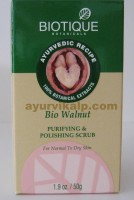 Biotique WALNUT Purifying & Polishing Scrub 50g / 1.9oz