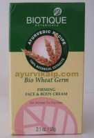 Biotique WHEAT GERM Firming Face & Body Cream 55g (2.1oz)