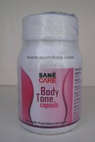 Sane Care, BODY TONE, 60 Capsules, Weight Loss