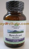 Organic India Bowel Care Capsules | Chronic Constipation