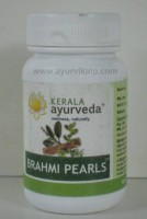 BRAHMI PEARLS, Kerala Ayurveda, 40 Capsules, Relieves Stress & Anxiety