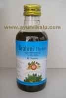 Arya Vaidya, Ayurvedic BRAHMI THAILAM, 200ml, Useful In Cooling To Head and Good For Eyes