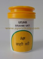 Unjha Pharmacy, BRAHMI VATI, 60 Tablets, Disease of Heart