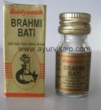 BRAHMI Bati (Ayurved Sar Sangraha) Baidyanath, 10 Tablets