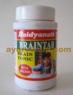 Baidyanath BRAINTAB, 50 Ttablets, Improves Grasping Power