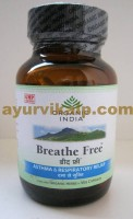 Organic India BREATHE FREE, 60 Capsules for Allergic Asthma