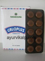 CALCIPLUS, Nagarjuna, 100 Tablets, Calcium Deficiency Conditions