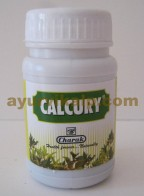 Charak CALCURY, 40 Tablets, for Urinary Calculi