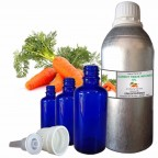 CARROT TISSUE INFUSED OIL, Daucus Carota, 100% Pure & Natural Carrier Oil