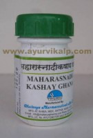 Chaitanya, MAHARASNADIKASHAY GHANA, 60 Tablet, Combination of Herbs