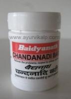 CHANDANADI Bati (Siddha Yog Sangrah) Baidyanath, 40 Tablets