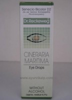 Dr. Reckeweg, CINERARIA MARITIMA, 10 ml, Eye Drops without Alcohol