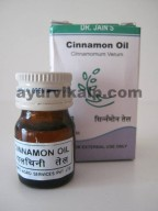 Dr. Jain's CINNAMON Oil, 5ml, Uplifting, Digestion, Aphrodisiac