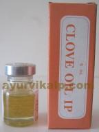 Ashwin CLOVE Oil, 5ml, for toothache, dental care
