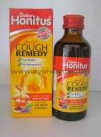 Dabur, HONITUS Herbal Cough Remedy Honey Based Syrup. 100ml, Effectively Controls Cough, Relieves Throat Irritation