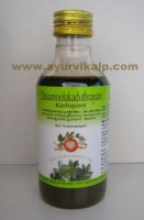 Arya Vaidya, Ayurvedic DASAMOOLA KADUTHRAYAM KASHAYAM, 200ml, For Cough, Breathlessness. Pain in Chest, Back and Head