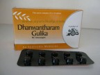 Arya Vaidya Pharmacy, DHANWANTHARAM GULIKA, 100 Tablets, For Vomiting, Cough, Eczema