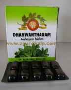 Arya Viadya Pharmacy, DHANWANTHARAM Kashayam, 100 Tablets, For Neuro Muscular Disorders, Gynaecological Disorders