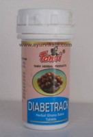 DIABETRACK Tanvi Herbal, 30 Ghana Satva Tablets, For Diabetic Tendency