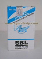 SBL Homeopathy, DIBONIL Tablets, 25 gm, Management of Diabetes