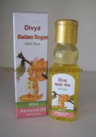 Divya, BADAM ROGAN (ALMOND OIL) 100% Pure, 60, For, Brain Weakness, Hair Falling & Skin dryness