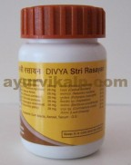 Divya STRI RASAYAN VATI, 80 Tablets, Indicated in Multiple of Female Diseases